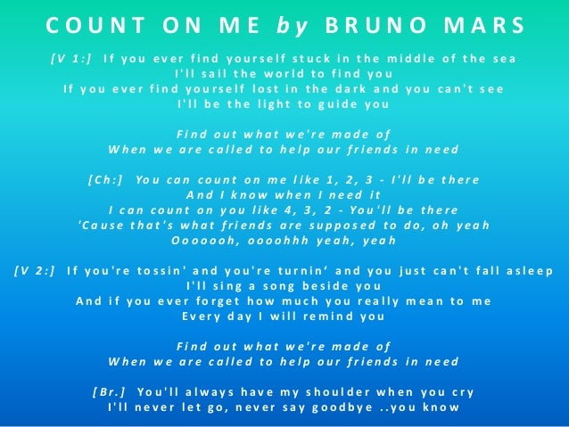 bruno mars you can count on me mp3 download