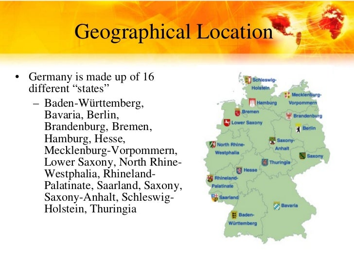 What is it like in Berlin? Geographical features?
