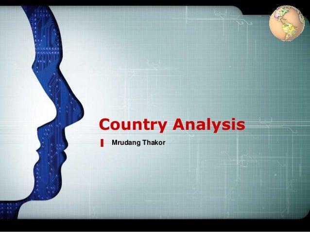 LOGOCountry Analysis Mrudang Thakor