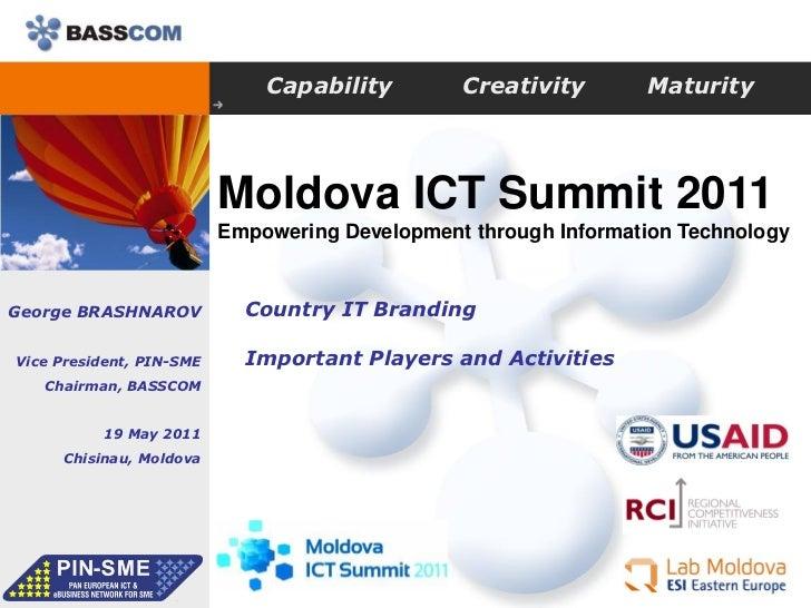 Capability        Creativity       Maturity                          Moldova ICT Summit 2011                          Empo...