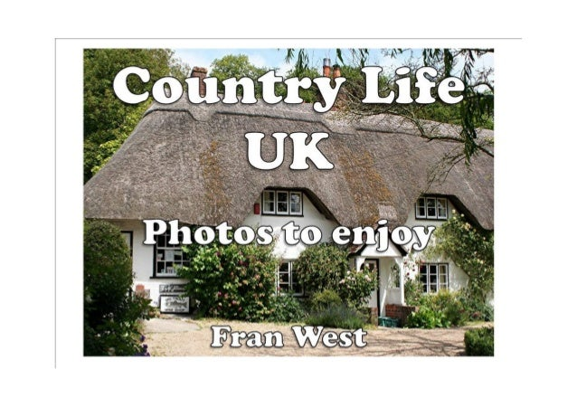 Country Life UK : Photos to enjoy (a children's picture book) Kindle Edition by Fran West