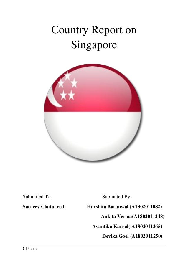 Singapore country report