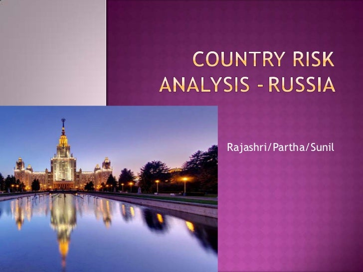Country risk analysis  russia nopics