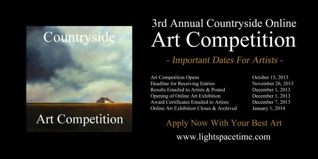 Countryside 2013 Online Art Competition - Event Poster