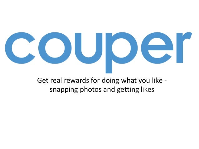 Get real rewards for doing what you like - snapping photos and getting likes
