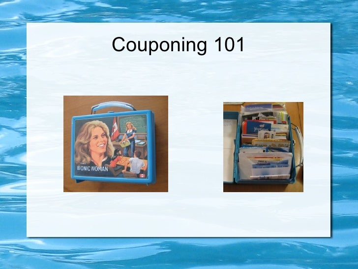 Couponing 101 - Intro and Tour