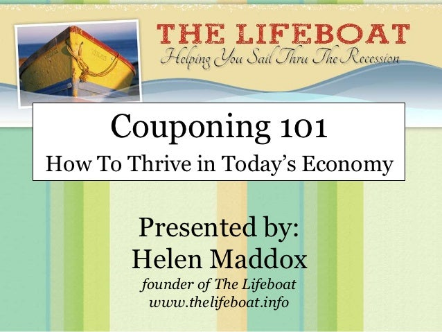 Couponing 101 class