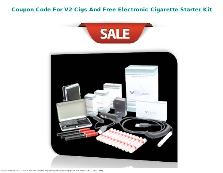 Coupon Code For V2 Cigs And Free Electronic Cigarette Starter Kitfile:///Volumes/KINGSTON/V2CrazySpin3covers/v2cigs-crazys...
