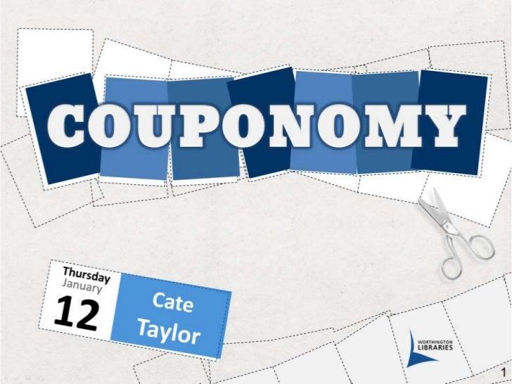 Couponomy slide share