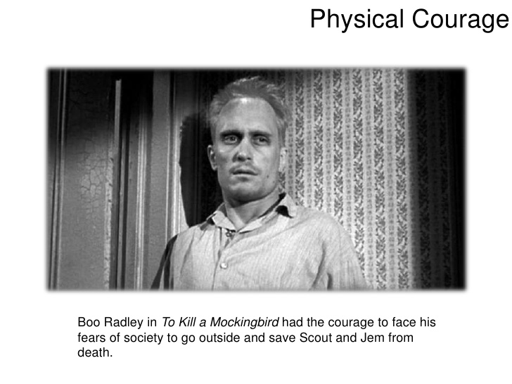 Реферат: To Kill A Mockingbird Courage Essay Research - BestReferat ru