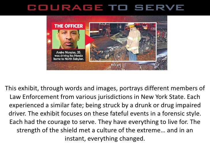 Courage to Serve