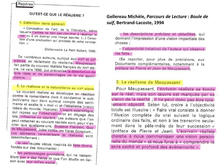 Gellereau Michèle,  Parcours de Lecture : Boule de suif , Bertrand-Lacoste, 1994
