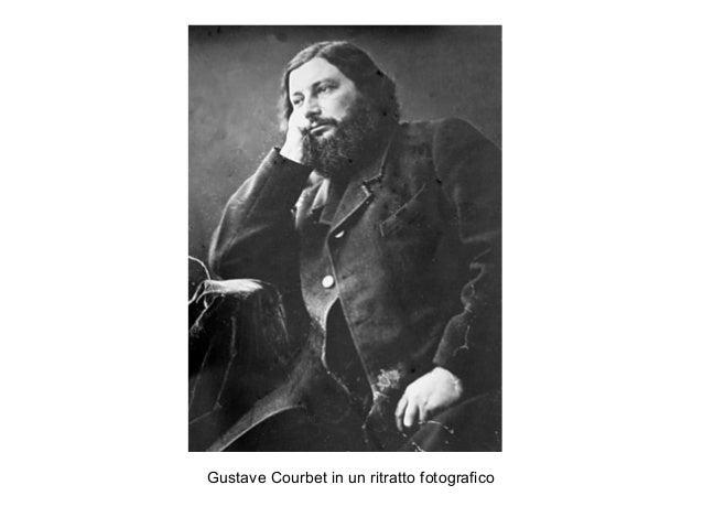 Gustave Courbet in un ritratto fotografico