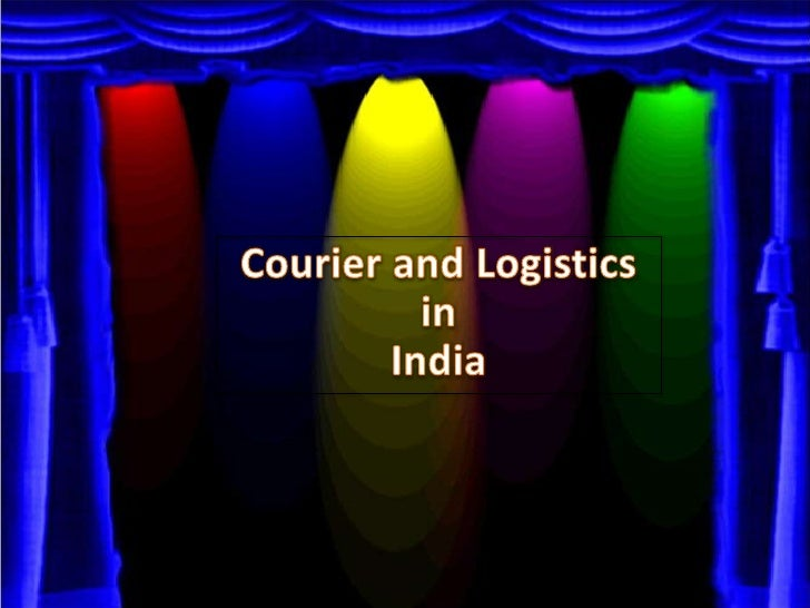 Courier and Logisticsin India<br />