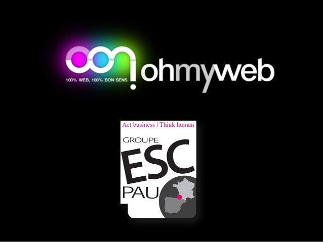 Intervention sur 3 jours=> Web-Marketing• Introduction e-marketing• Le web-marketing et ses nouveaux métiers• Sources de t...