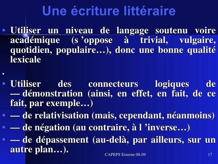 Cours Commentaire littéraire - Rédiger - Soutien scolaire en ligne ...