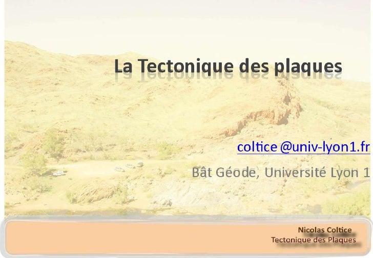 Plate tectonics 2.0 - classs 1