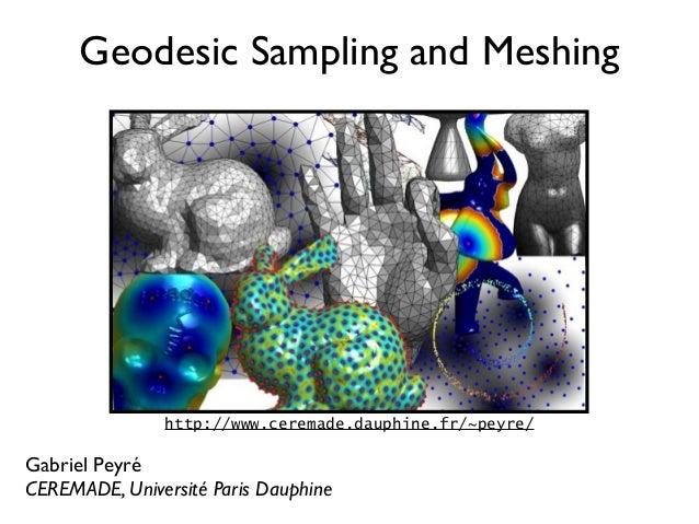Mesh Processing Course : Geodesic Sampling
