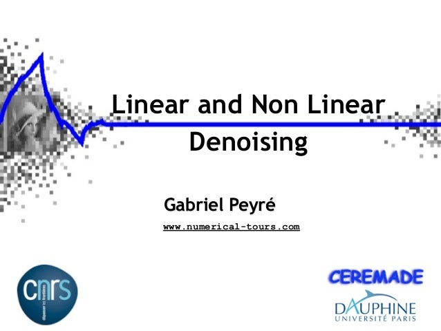 Signal Processing Course : Denoising