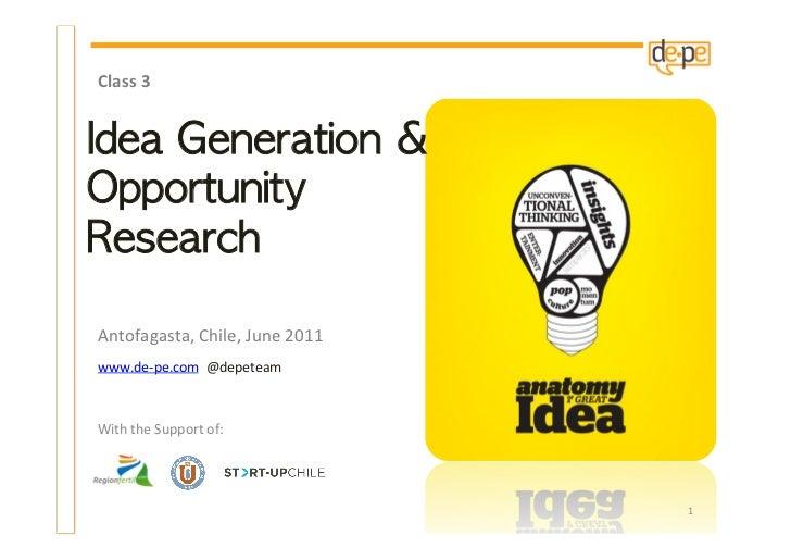 Course 3   1st session idea-generation