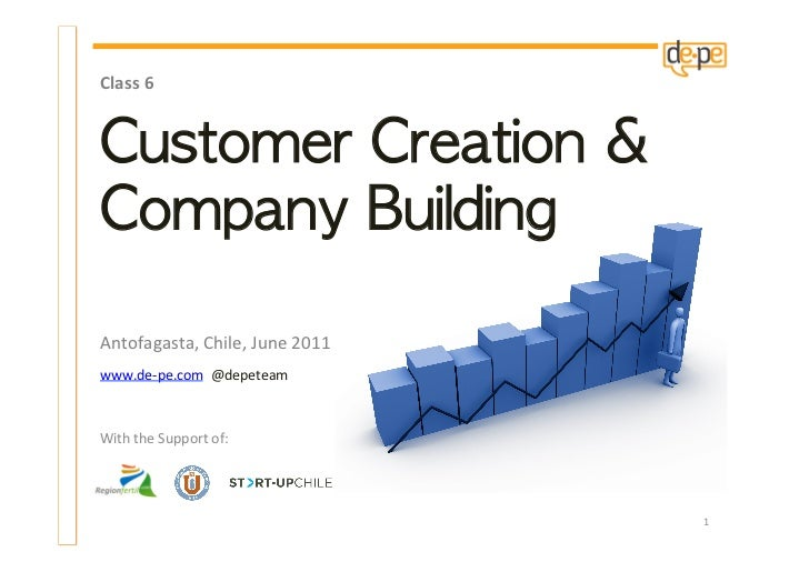 Course 6 - Customer Creation and Company Building