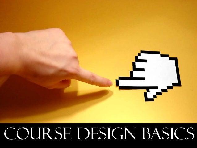Course design basics