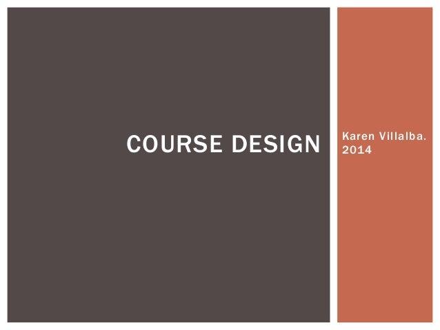 Course design nunan