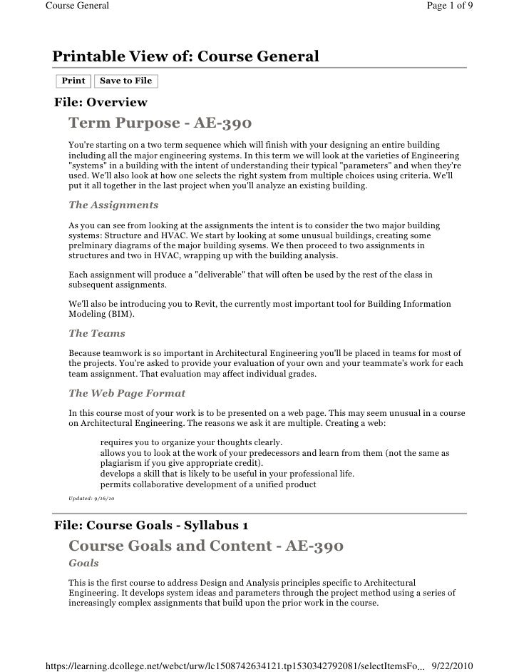 Course General                                                                                     Page 1 of 9      Printa...
