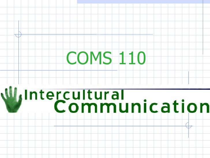 COMS 110