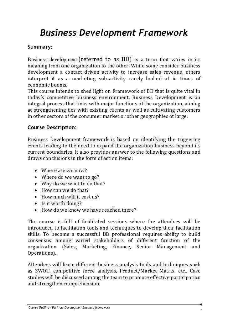 25 Nasba Cpe Credits Business Development Training Course Outline