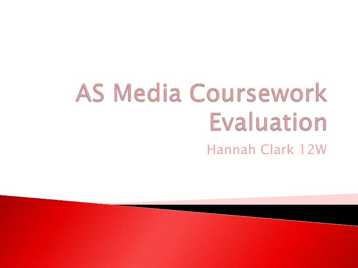 AS Coursework Evaluation