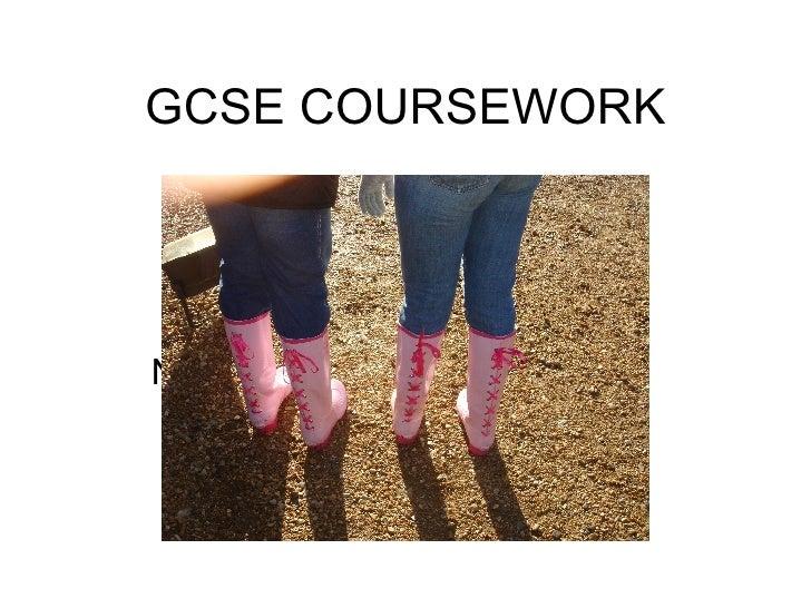GCSE COURSEWORK NORFOLK 2007