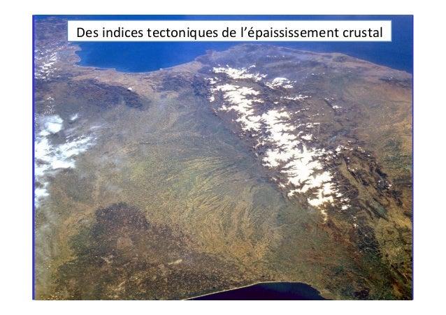 Des  indices  tectoniques  de  l'épaississement  crustal   AP2