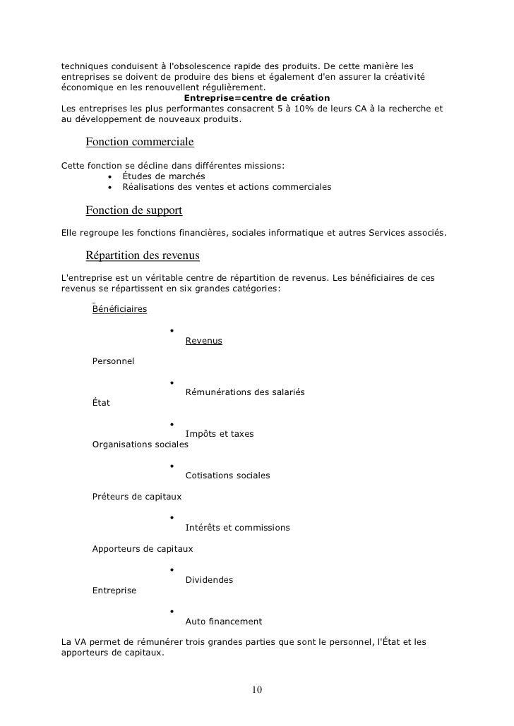 cours organisation des entreprises pdf