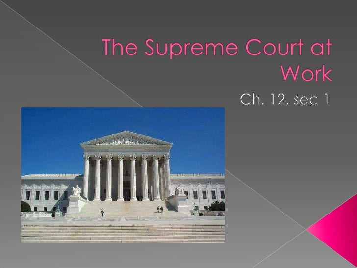 Of all the cases appealed to the Supreme Court each year, only 1% of them get heard.How do they get there?