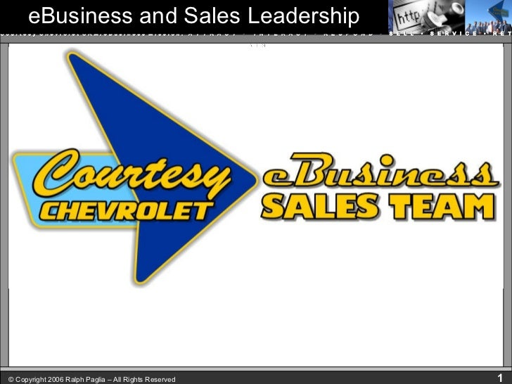 eBusiness and Sales Leadership