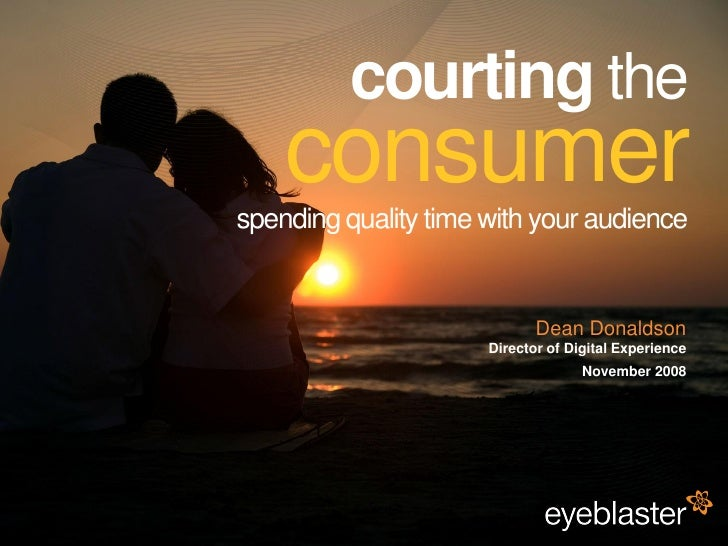 Courting The Consumer