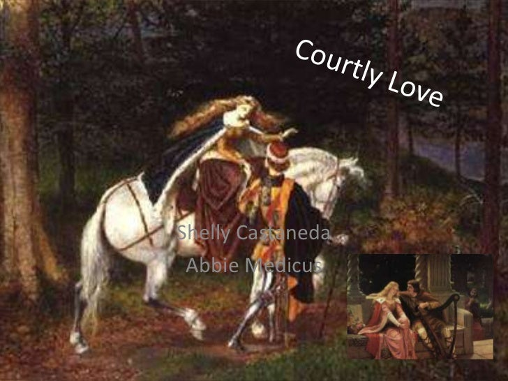 Courtly Love isn't about Love, You Piece of Shit