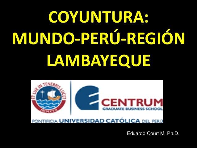 PANEL FÓRUM LAMBAYEQUE - Court monteverde
