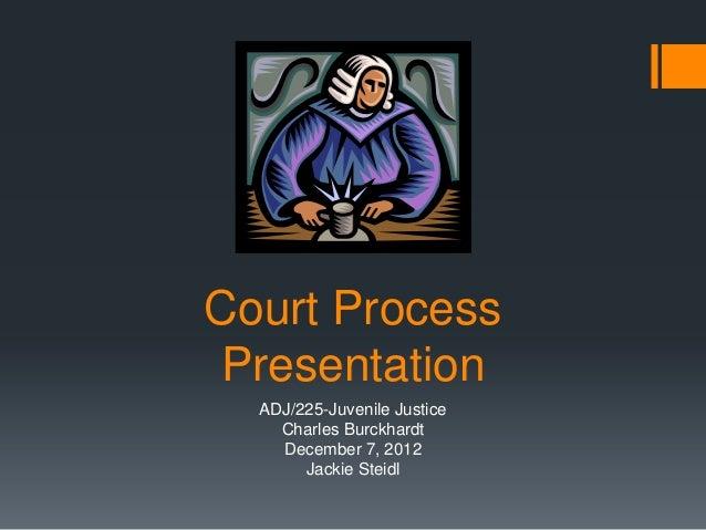 Court process presentation