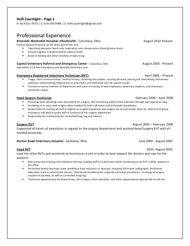 Lab researcher sample resume