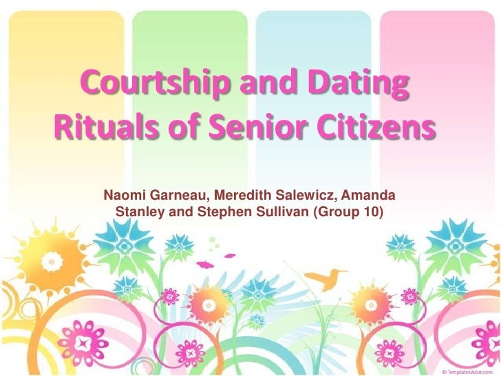 Courtship And Dating Rituals Of Senior Citizens