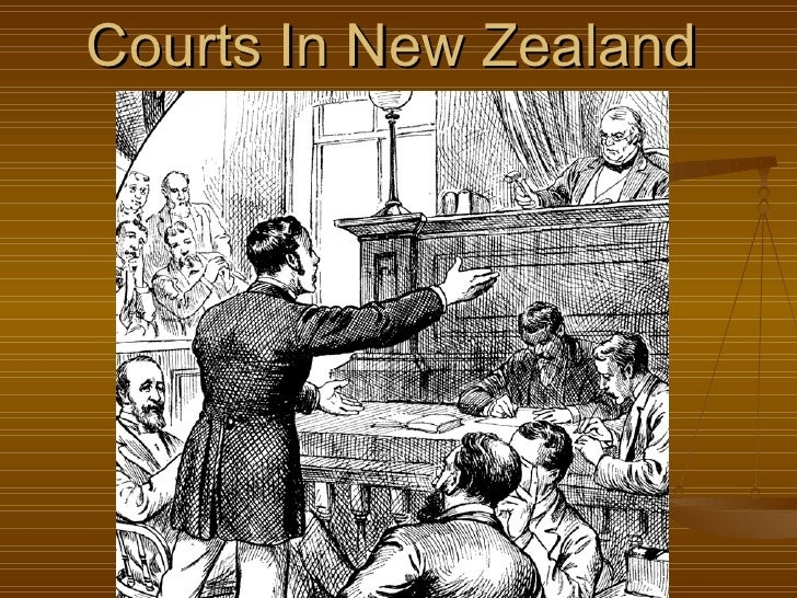 Courts in new zealand