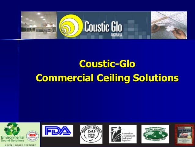 Coustic Glo Presentation