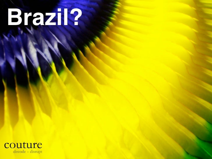 Brazil overview by Couture