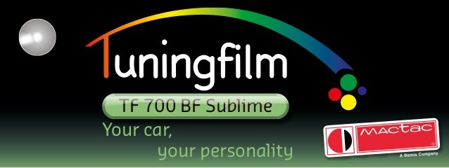 Your car, your personality TF 700 BF Sublime