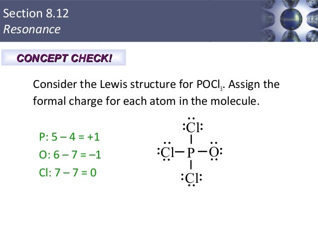 Pocl3 Lewis Structure Formal Charges Bonding: general concepts