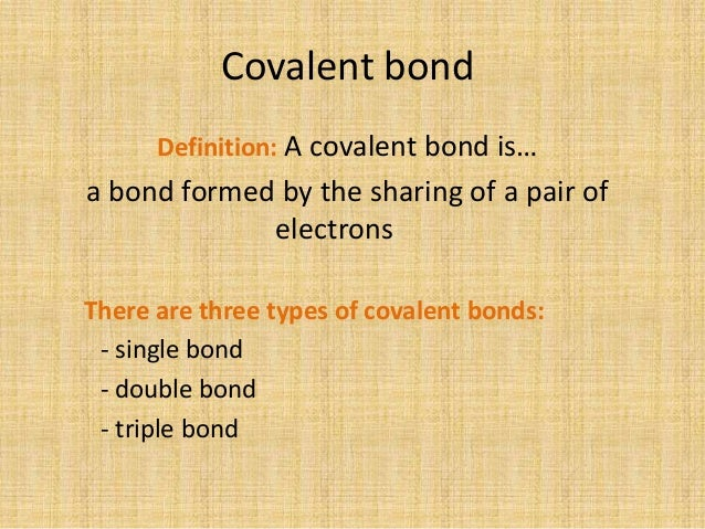 Double covalent bond definition yahoo dating 8