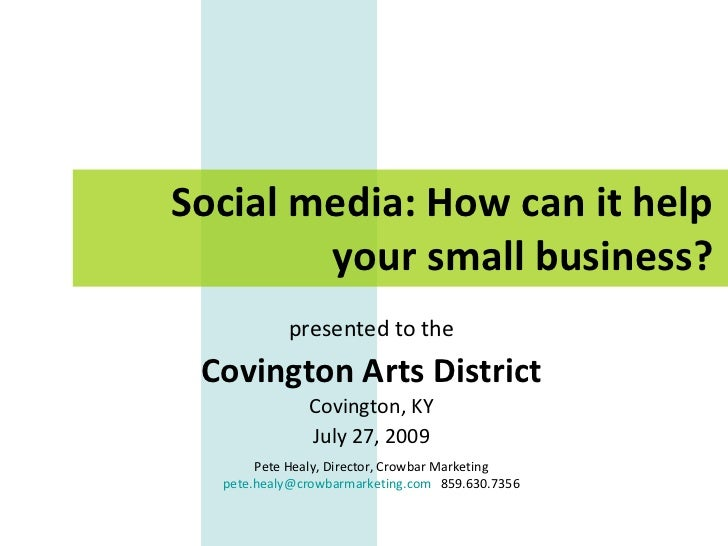 How Can Social Media Help Your Small Business?