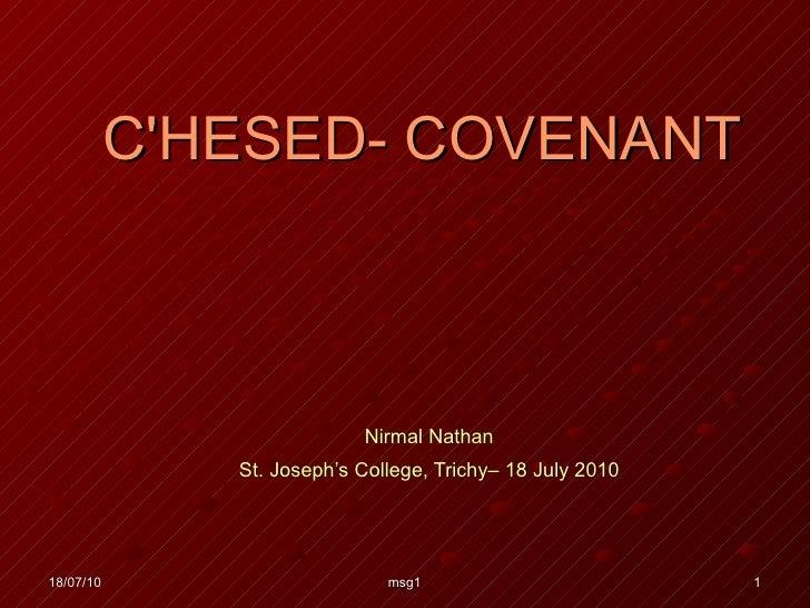 Covenant   1
